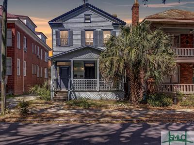 Savannah Single Family Home For Sale: 22 E 37th Street