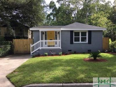 Savannah Single Family Home For Sale: 711 E 34th Street