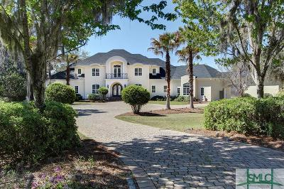 Savannah GA Single Family Home For Sale: $1,725,000