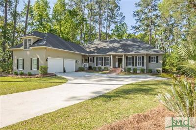 Savannah Single Family Home For Sale: 71 Franklin Creek Road S