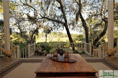 Savannah Single Family Home For Sale: 37 Franklin Creek Road S