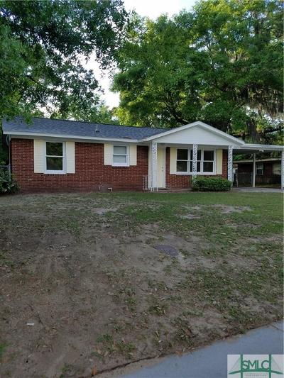 Savannah GA Single Family Home For Sale: $126,900