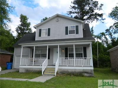 Savannah GA Single Family Home For Sale: $205,000