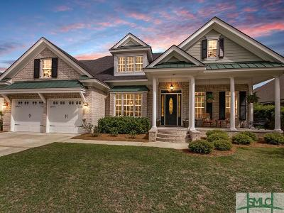 Pooler Single Family Home Active Contingent: 119 Kent Trail