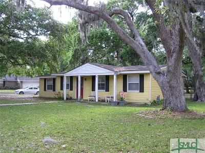 Wilmington Island Single Family Home For Sale: 821 Walthour Road