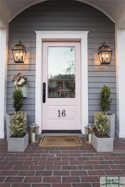 Savannah Single Family Home For Sale: 16 E 48th Street