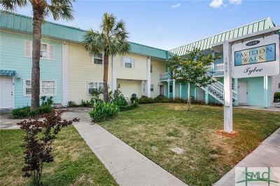 Tybee Island Condo/Townhouse For Sale: 1608 Jones Avenue #6