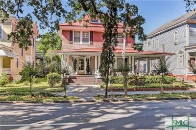 Savannah Single Family Home For Sale: 218 W 37th Street