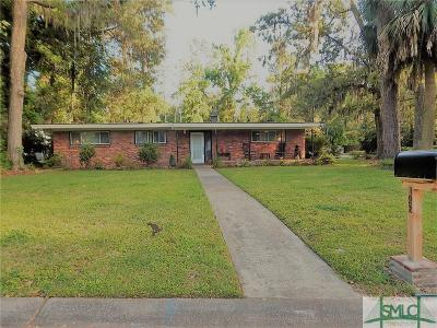 Isle Of Hope Single Family Home For Sale: 146 Jacquelyn Drive