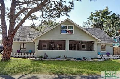 Tybee Island Single Family Home For Sale: 300/302 2nd Avenue