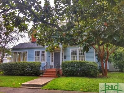 Savannah Single Family Home For Sale: 405 E 55th Street