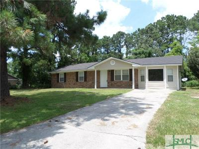 Pooler Single Family Home For Sale: 300 Garden Acres Way