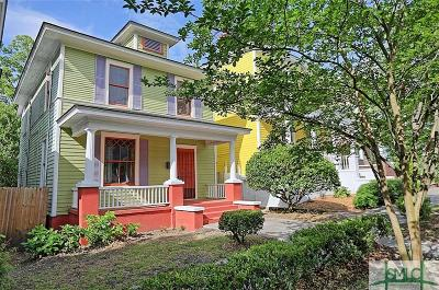 Savannah Single Family Home For Sale: 517 E Henry Street