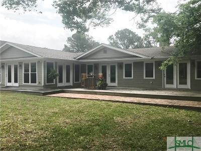 Savannah Single Family Home For Sale: 60 Amanda Drive