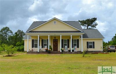 Single Family Home For Sale: 152 Nease Road