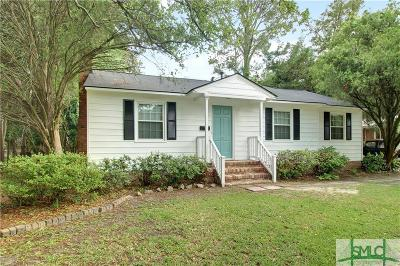 Savannah Single Family Home For Sale: 311 E Derenne Avenue