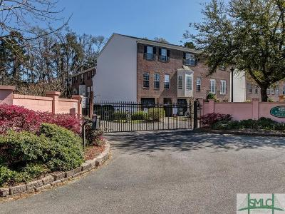 Savannah Condo/Townhouse For Sale: 311 Station Trail