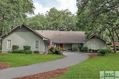 Savannah Single Family Home For Sale: 4 Wesley Crossing