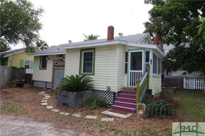 Tybee Island Single Family Home For Sale: 10 Meddin Lane
