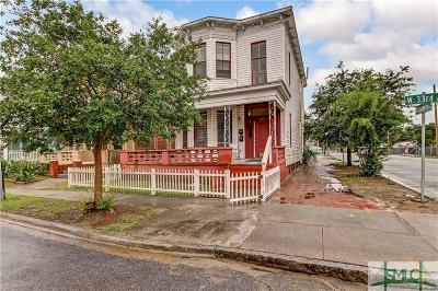 Savannah Single Family Home For Sale: 319 W 33rd Street