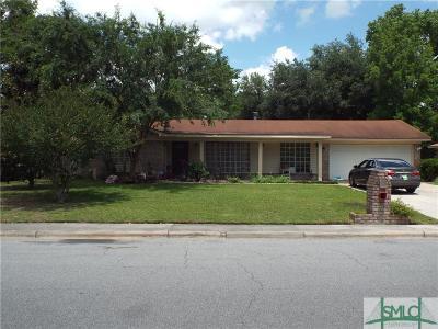 Savannah GA Single Family Home For Sale: $155,000