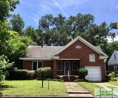 Savannah Single Family Home For Sale: 325 E 56th Street