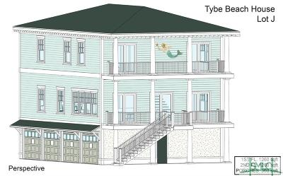 Tybee Island GA Single Family Home For Sale: $629,000
