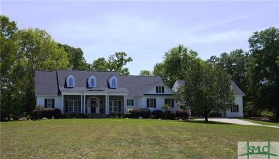 Single Family Home For Sale: 4500 Mallard Pond Road