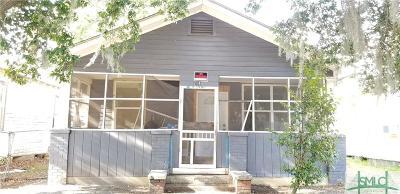 Savannah Single Family Home For Sale: 214 W 60th Street