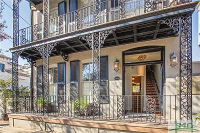 Savannah Single Family Home For Sale: 439 Abercorn Street