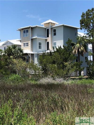 Tybee Island Single Family Home For Sale: 1429 Estill Avenue