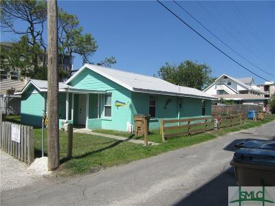 Tybee Island Single Family Home For Sale: 10 17th Place