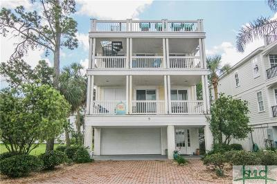 Tybee Island Single Family Home For Sale: 5 Sanctuary Place