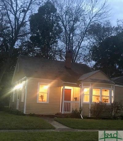Savannah Single Family Home For Sale: 1235 E 41st Street E