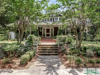 Savannah Single Family Home For Sale: 18 Gordonston Avenue