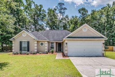 Pooler Single Family Home For Sale: 126 Timberland Gap Road