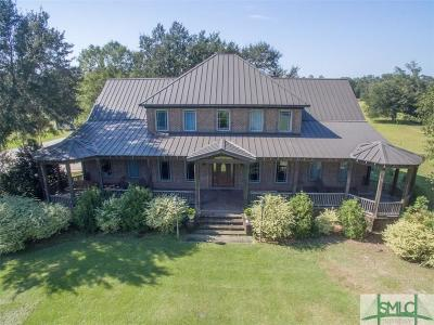 Guyton Single Family Home For Sale: 440 Hodgeville Road