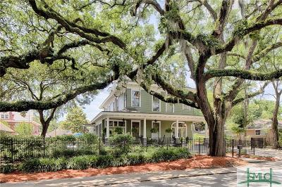 Savannah Single Family Home For Sale: 121 E Victory Drive