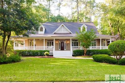 Savannah GA Single Family Home Active Contingent: $345,000