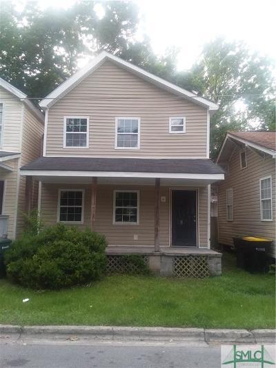 Savannah Single Family Home For Sale: 1715 Le Grand Street