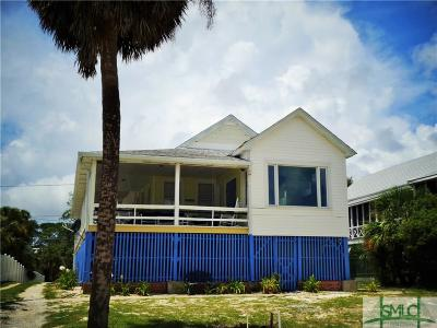 Tybee Island Single Family Home For Sale: 6 13th Place