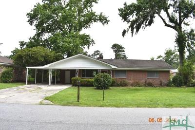Savannah GA Single Family Home For Sale: $189,900