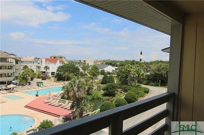 Tybee Island Condo/Townhouse For Sale: 85 Van Horne Avenue #6-C