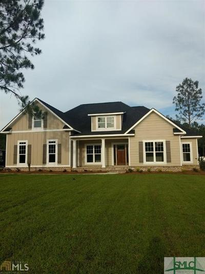 Statesboro Single Family Home For Sale: 2024 Pippin Place