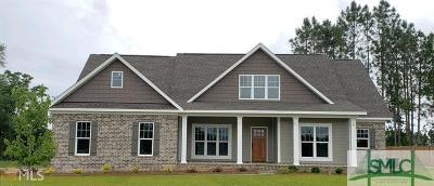 Statesboro Single Family Home For Sale: 5216 Canady Court