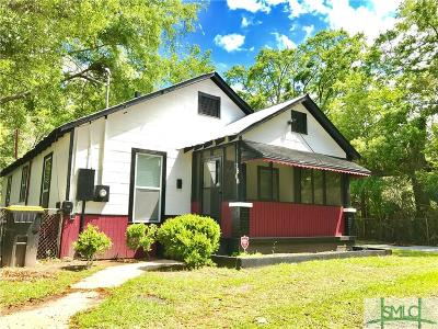 Savannah Single Family Home For Sale: 3808 Boyd Street
