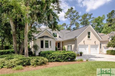 Savannah Single Family Home For Sale: 6 Sea Eagle Court