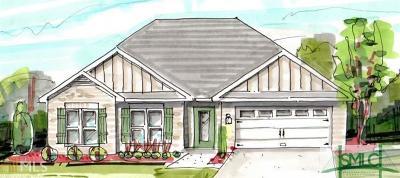 Statesboro Single Family Home For Sale: 112 Weatherstone Way