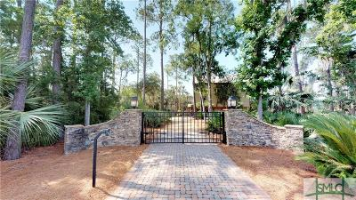 Savannah Single Family Home For Sale: 801 Perry Cove
