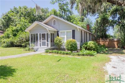 Savannah Single Family Home For Sale: 3233 Bannon Drive
